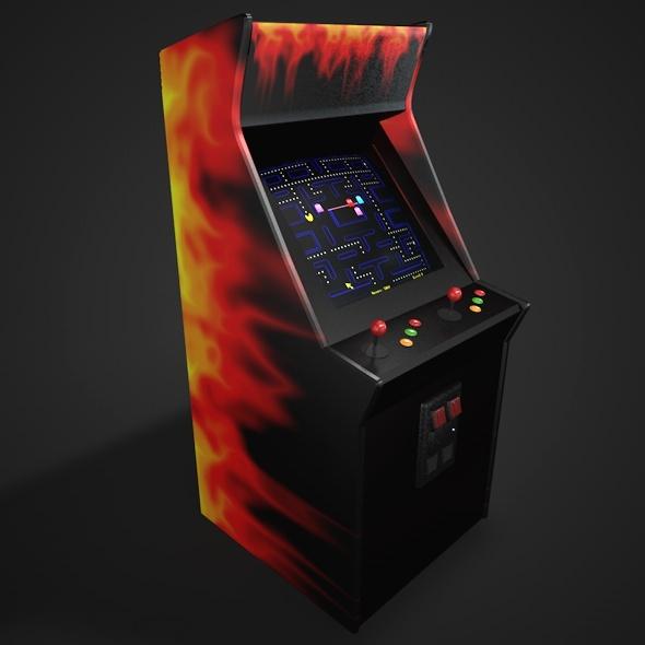 3DOcean Arcade Game 6927366