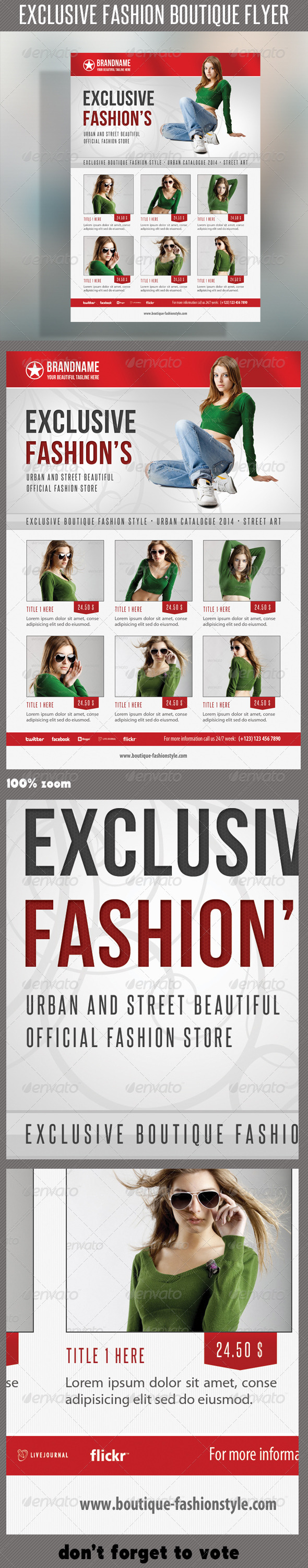 Fashion Product Flyer 38 - Commerce Flyers
