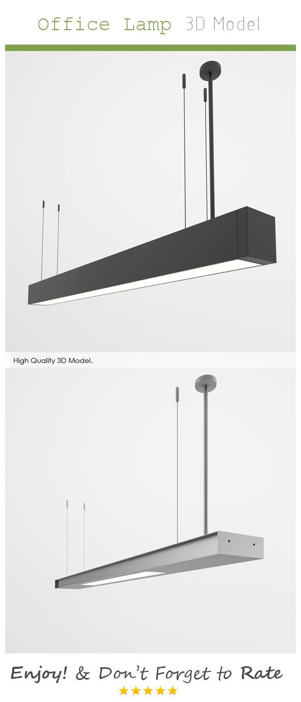 3DOcean Office Lamp 3D Model 6927420