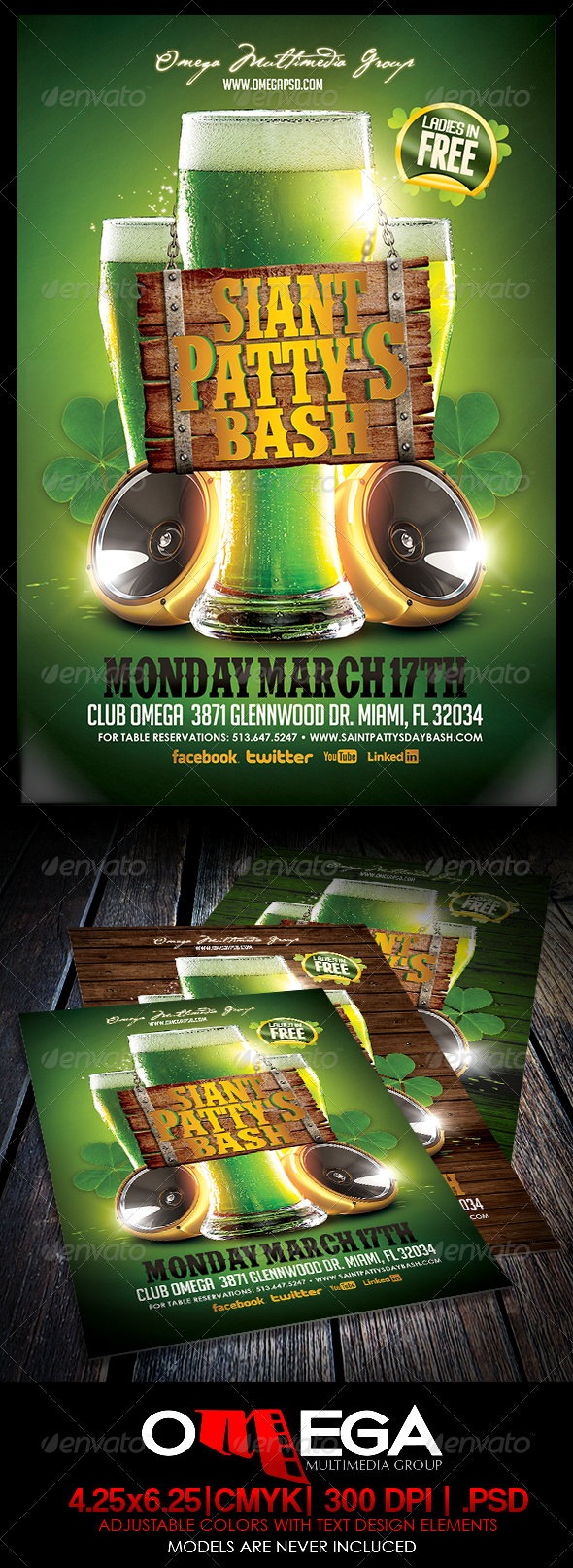 GraphicRiver St Patty s Bash 6927973