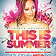 Summer Event Party Flyer - GraphicRiver Item for Sale
