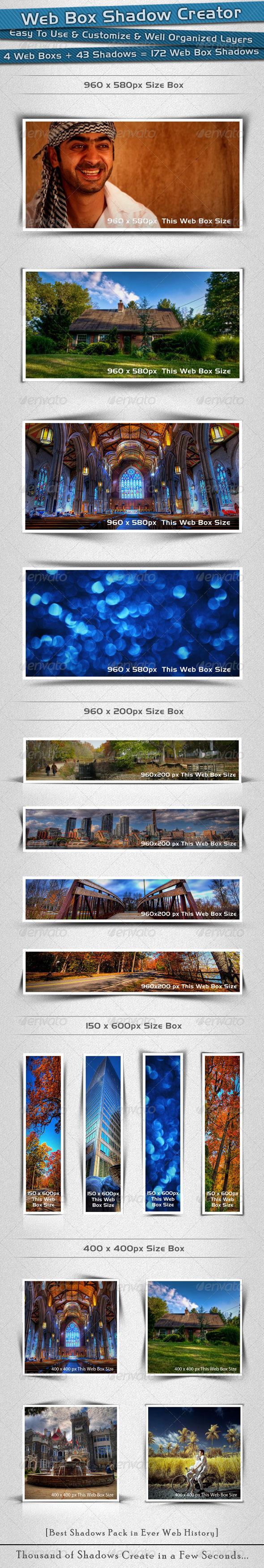 GraphicRiver Web Box Shadow Creator 726328
