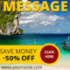 Travel Web Ad Banners - GraphicRiver Item for Sale