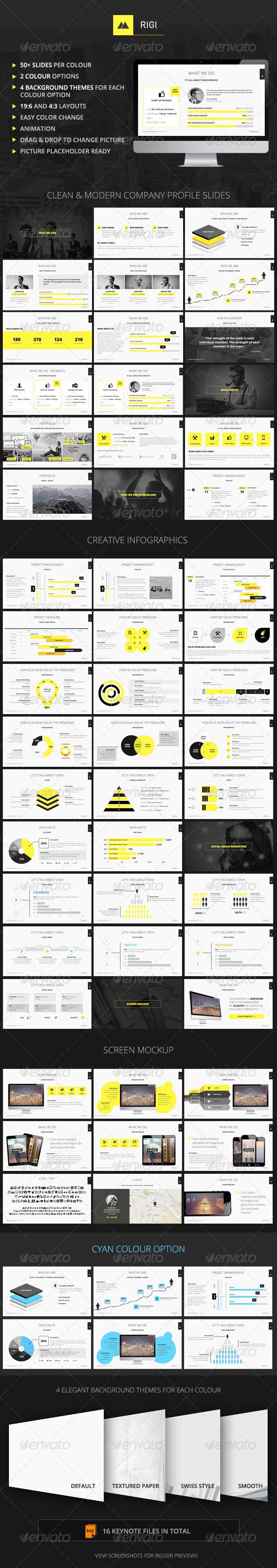 GraphicRiver RIGI Keynote Template 6928908