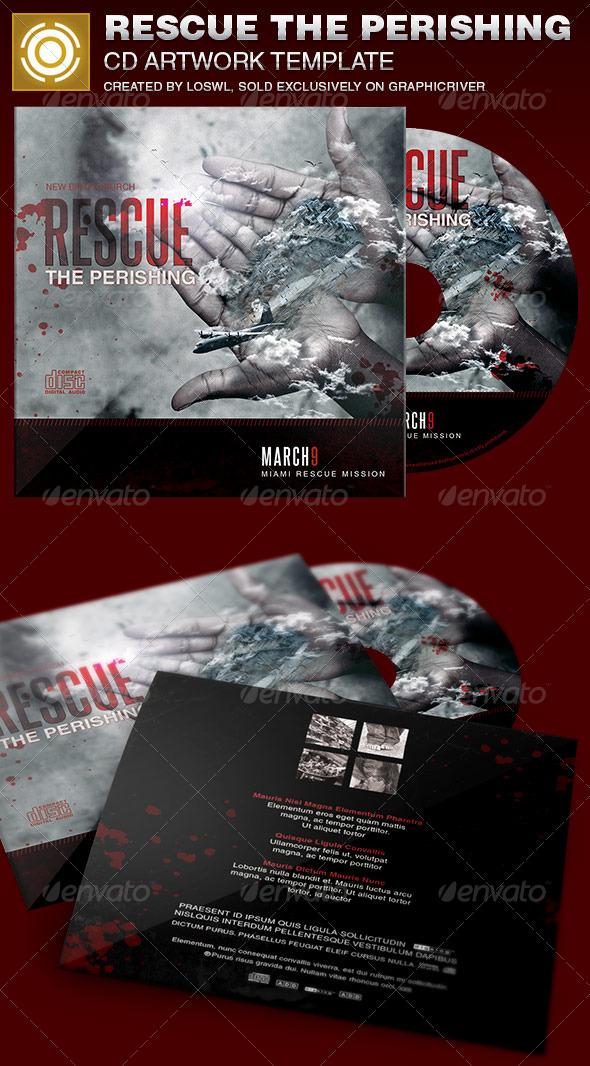 GraphicRiver Rescue the Perishing Charity CD Artwork Template 6931995