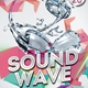 Sound Wave Flyer Template - GraphicRiver Item for Sale
