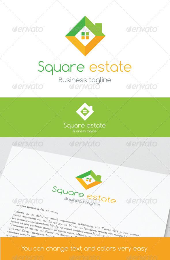 GraphicRiver Square Estate 6914180
