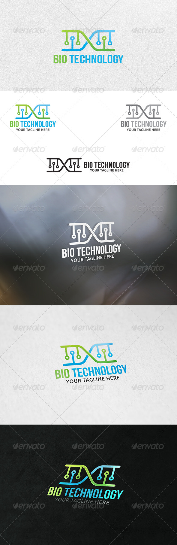 GraphicRiver Bio Technology Logo Template 6934146