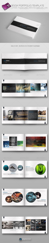 GraphicRiver Book Portfolio Template 6934745