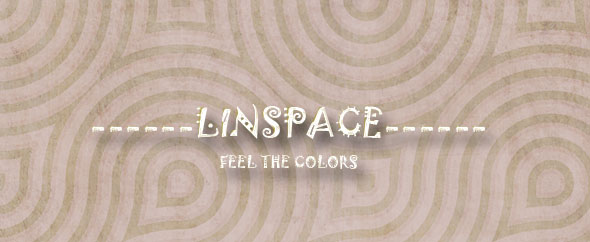 linspace