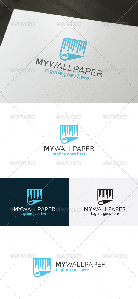 GraphicRiver My Wallpaper Logo 6935410