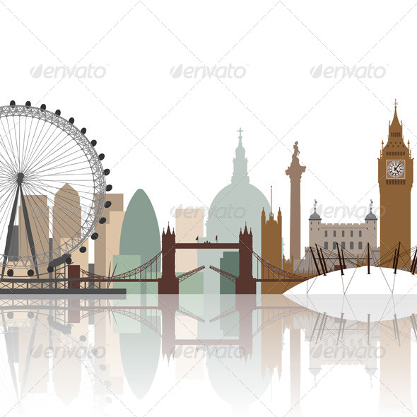 GraphicRiver London Cityscape 6935580
