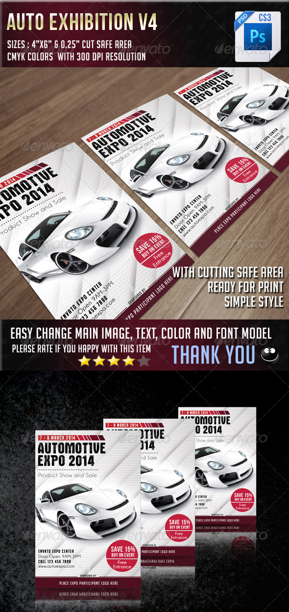 GraphicRiver Auto Exhibition V4 6935885