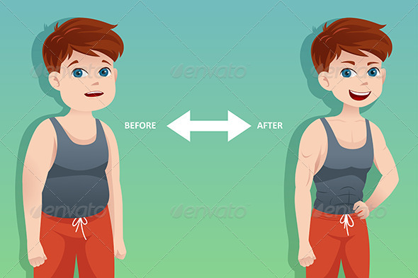 GraphicRiver Before and After Weight Loss 6936094