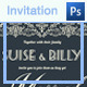 Lace Design Wedding Invitation - GraphicRiver Item for Sale