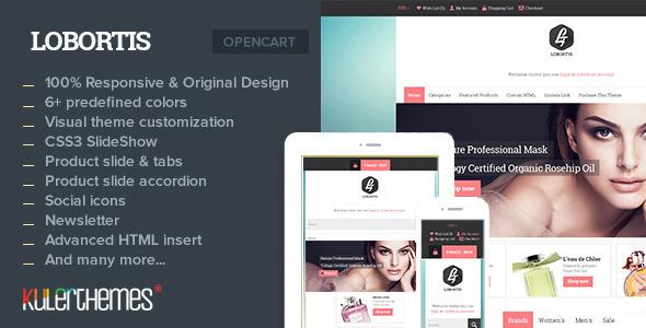 Lobortis – A charming Opencart theme  - Shopping OpenCart