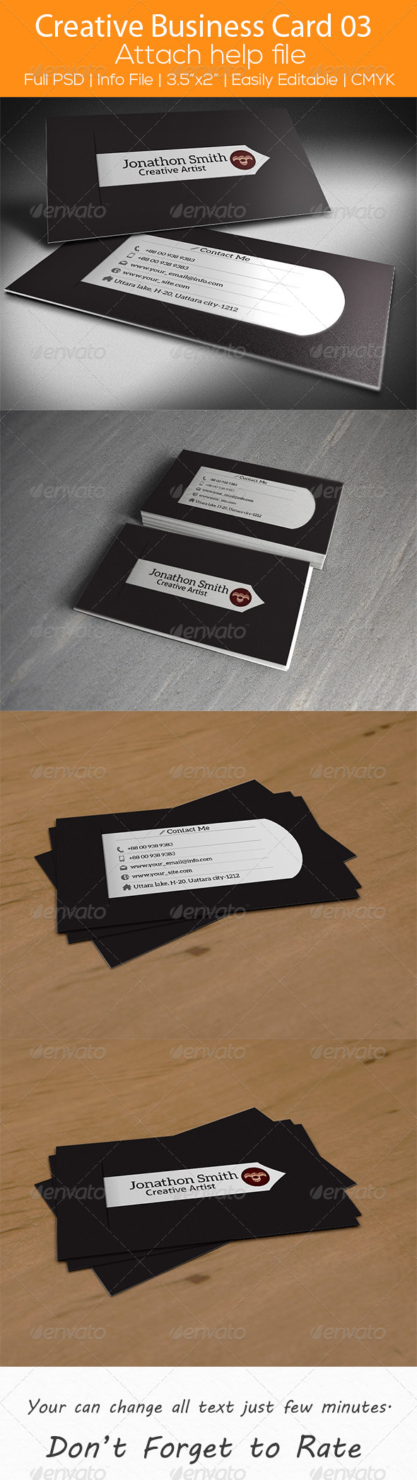 GraphicRiver Creative Business Card 03 6937013