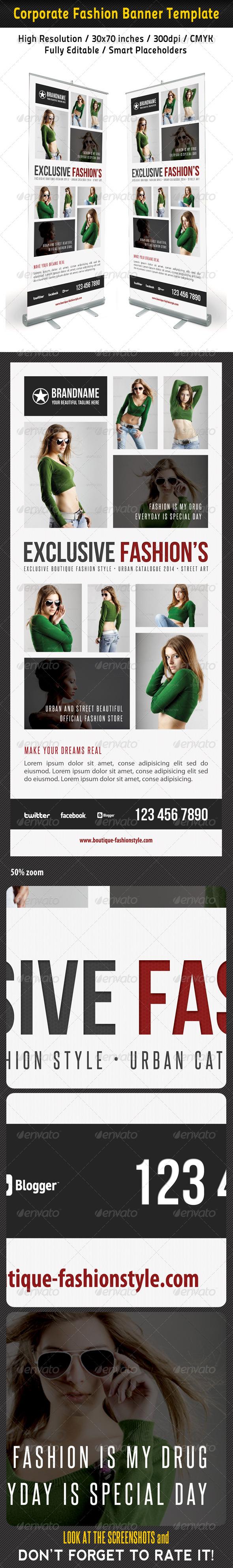 GraphicRiver Fashion Multipurpose Banner Template 34 6937294