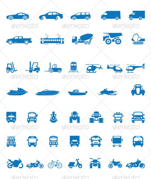 43 Vehicle Silhouette Shape