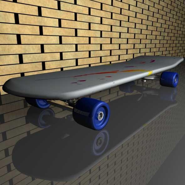 3DOcean Skateboard 708657