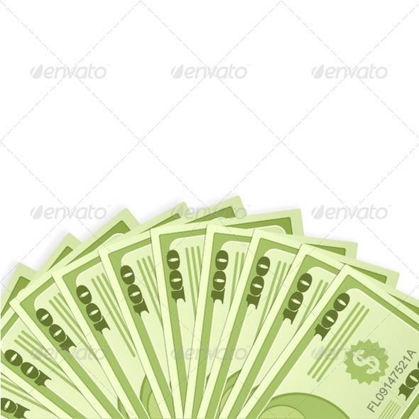 GraphicRiver Dollar Banknotes Background 6937763
