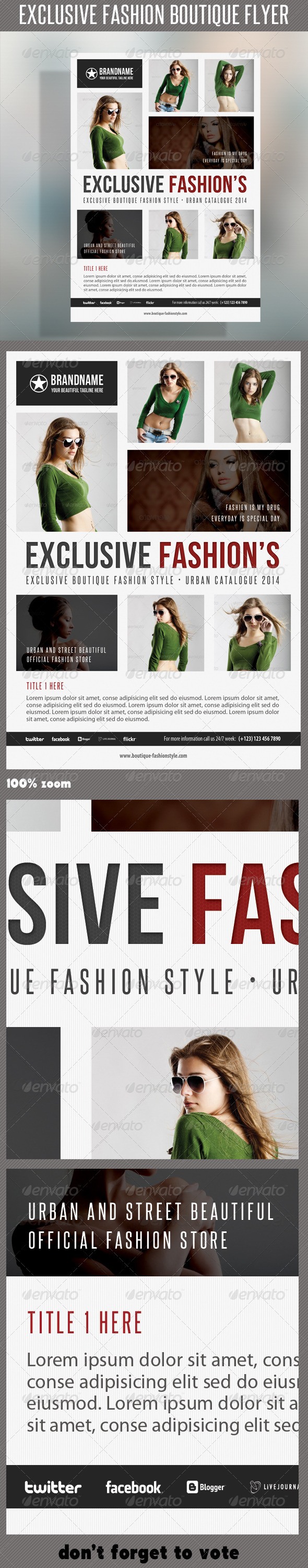 GraphicRiver Fashion Product Flyer 39 6937807