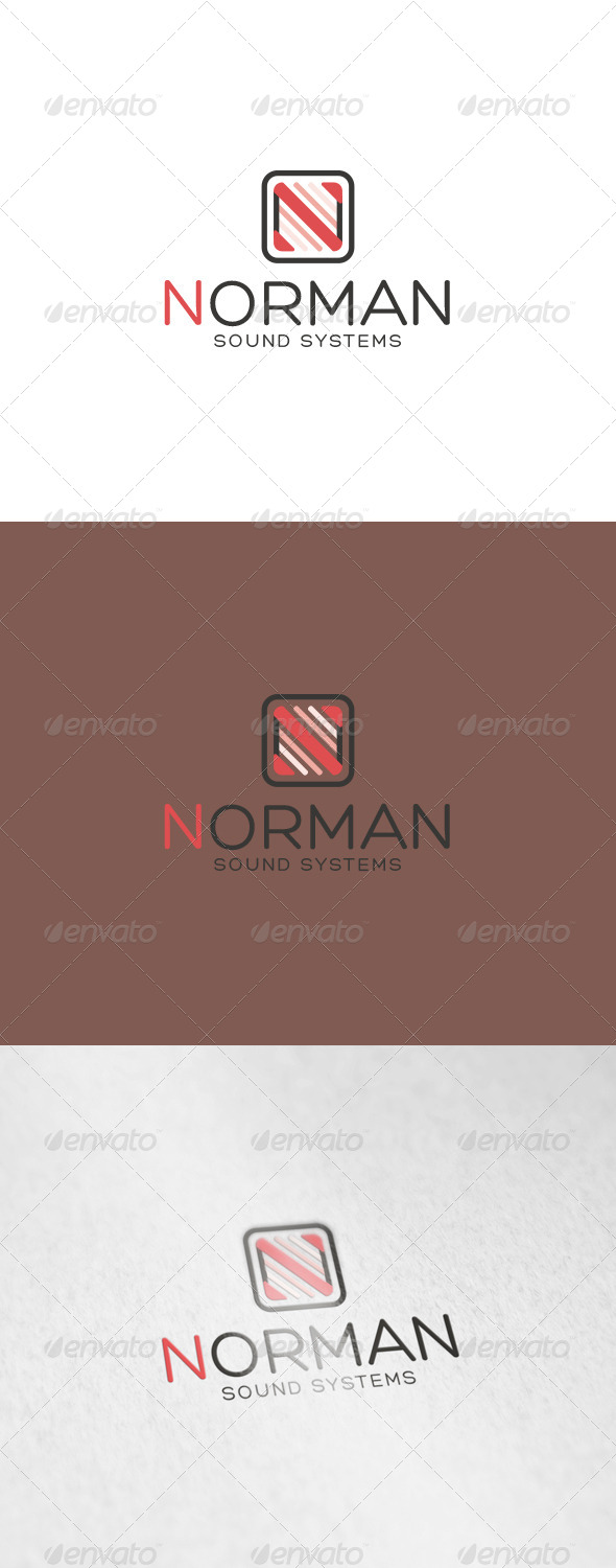 GraphicRiver Norman Logo 6937808