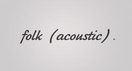 Folk (acoustic)