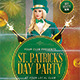 Saint Patrick's Day Party Flyer Template - GraphicRiver Item for Sale