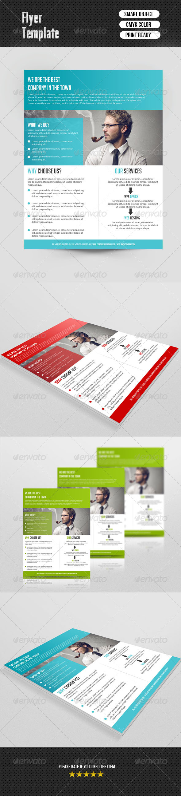 GraphicRiver Business Flyer Template 6938211
