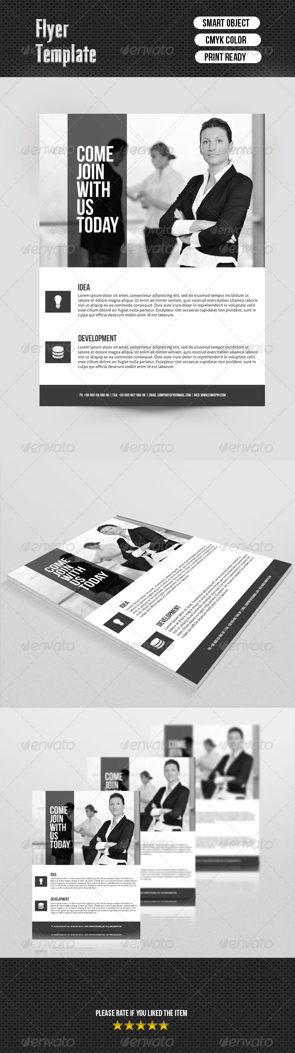GraphicRiver Business Flyer Template 6938229