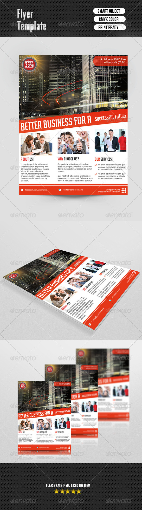 GraphicRiver Business Flyer Template 6938273