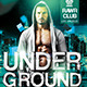 Underground Party Flyer Template - GraphicRiver Item for Sale