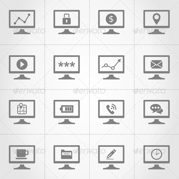 GraphicRiver Computer Icons 6938856