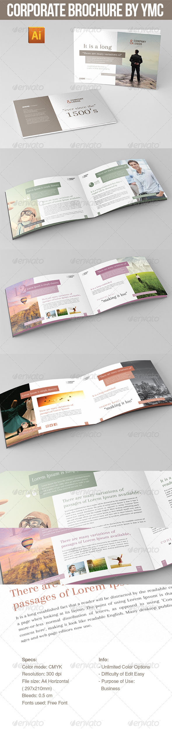 GraphicRiver Corporate Brochure By NYC 6939473