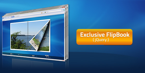 CodeCanyon Exclusive FlipBook jQuery 6940060