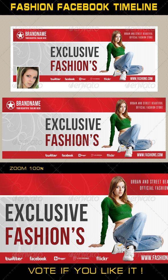 GraphicRiver Fashion Facebook Timeline 08 6940064