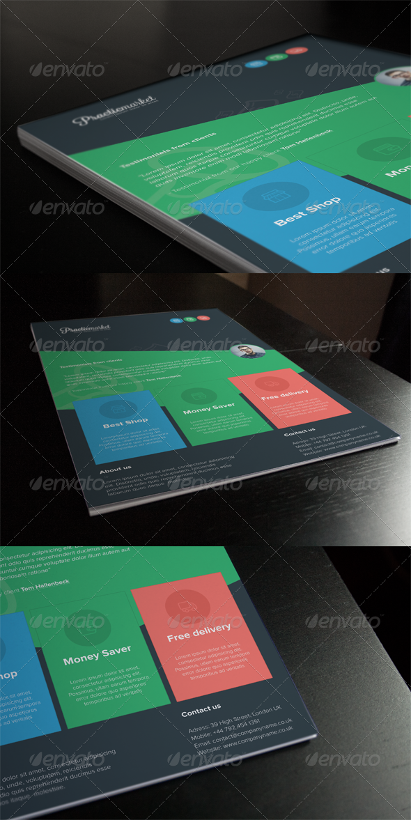 GraphicRiver Creative Flyer 03 6940192