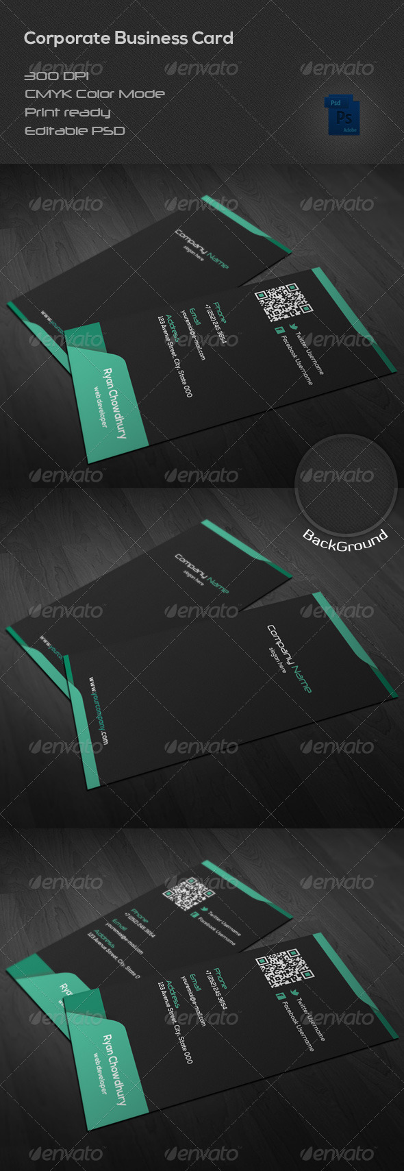 GraphicRiver Corporate Business Card 39 6940574