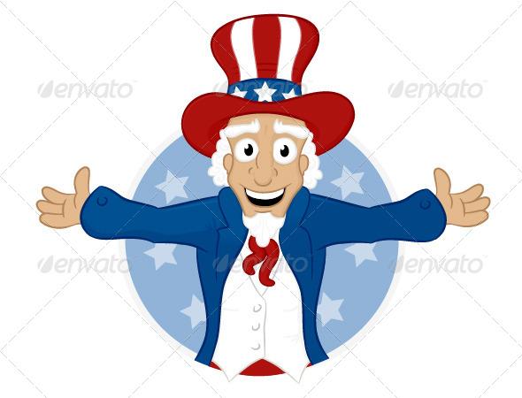 GraphicRiver Uncle Sam 6940894