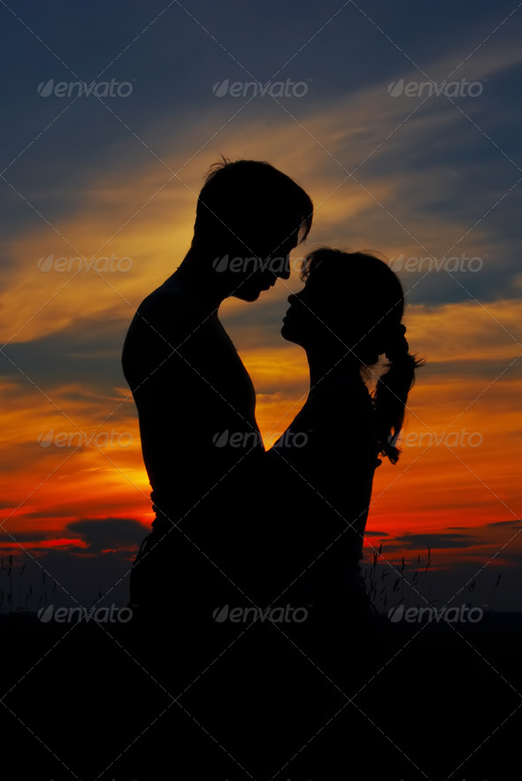 loving couple - Stock Photo - Images