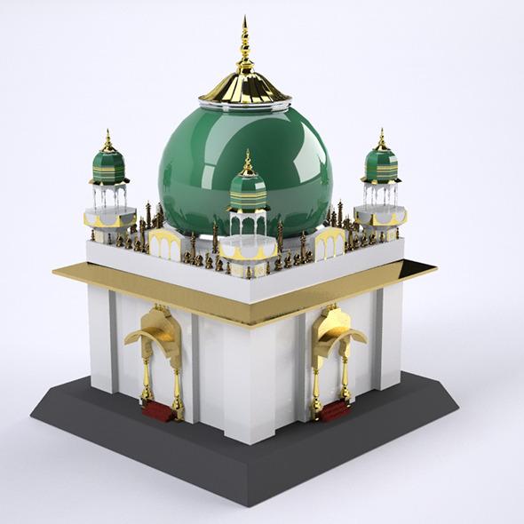 3DOcean Roza Mosque 6941057