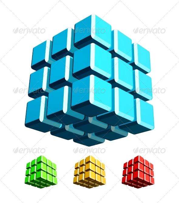 GraphicRiver 3D Cube 6941294