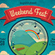 Weekend Fest Flyer Template - GraphicRiver Item for Sale