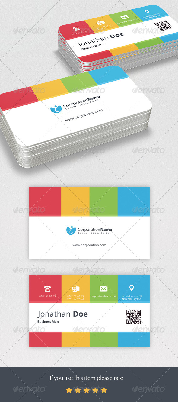GraphicRiver Corporate Business Card 6942115