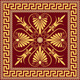 Vector Traditional Vintage Gold Greek Ornament  - GraphicRiver Item for Sale