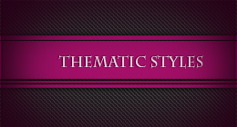 Thematic Sets of Graphic Styles,