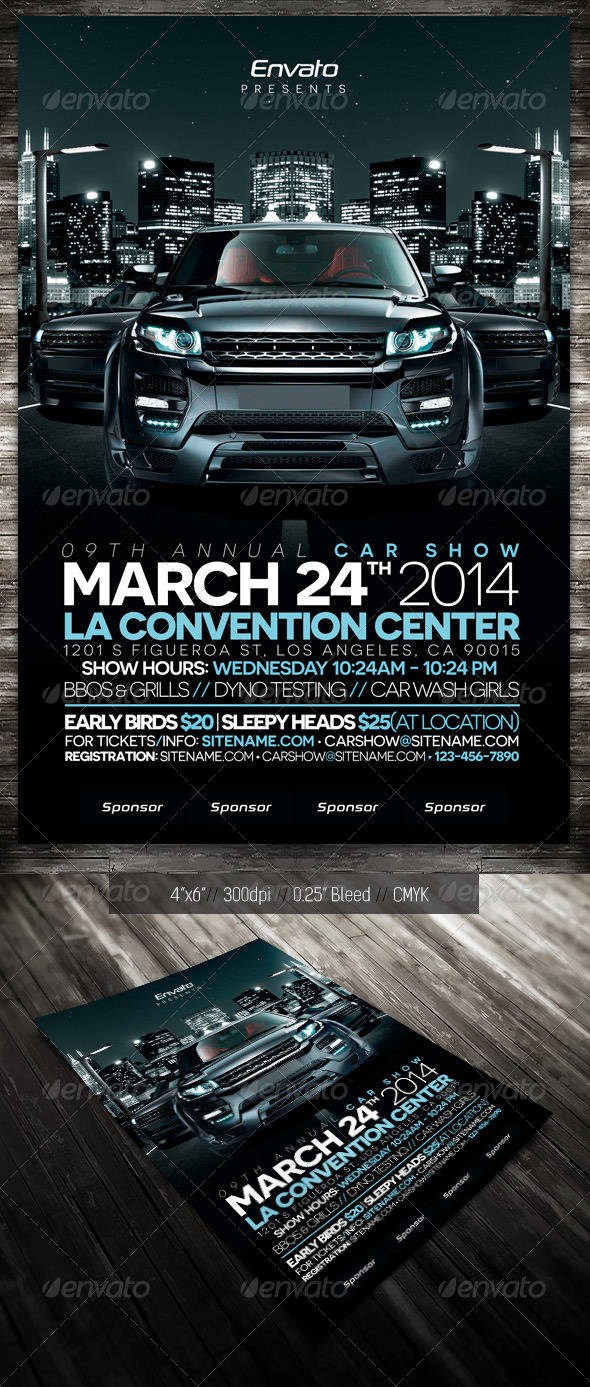 GraphicRiver Car Show City 6942543