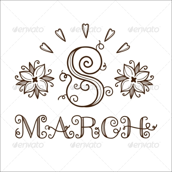 GraphicRiver 8 of March Date 6942545