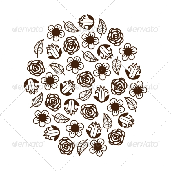 GraphicRiver Abstract Graphic Flowers 6942695